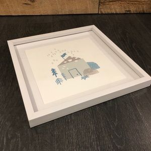 Framed wall decorative poster